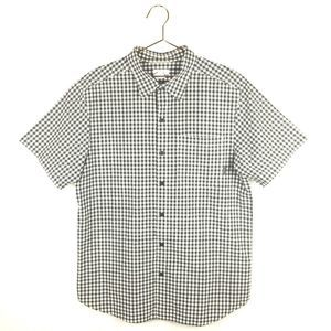 Columbia L Large Shirt Plaid Short Sleeve